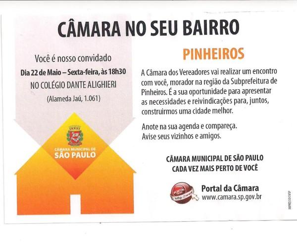 Campanha Camara no seu Bairro 001