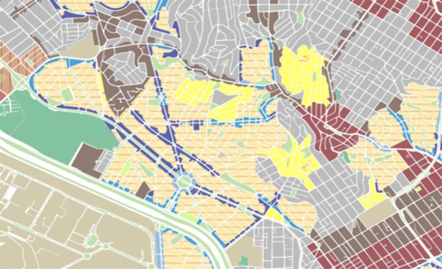 mapa zoneamento